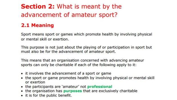 Amateur Sport